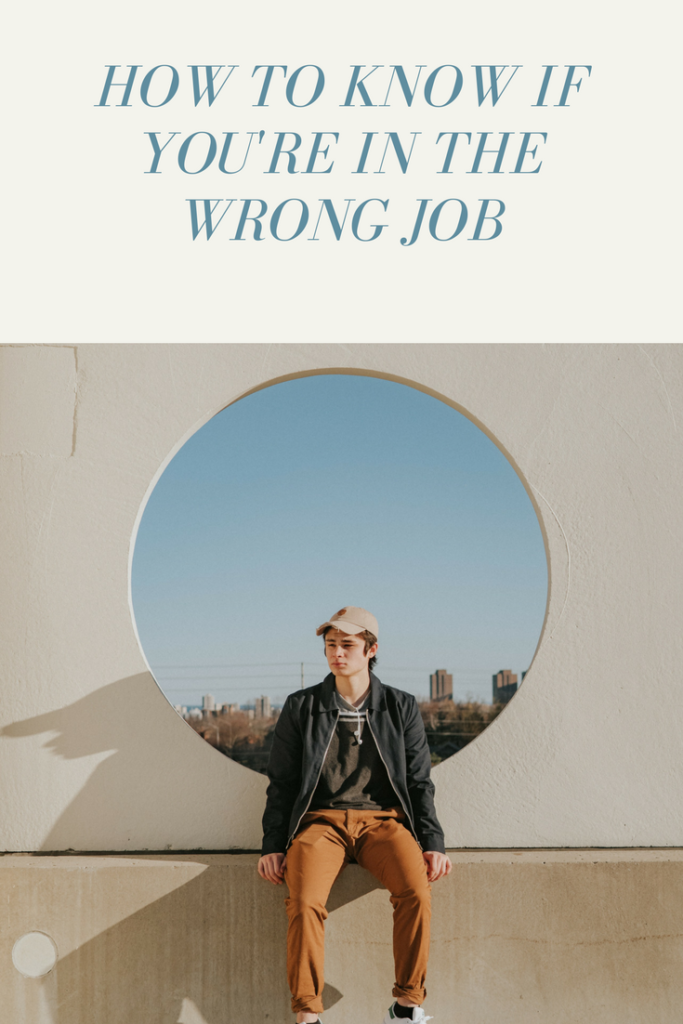 wrong job