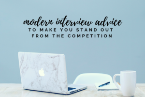 modern interview advice