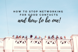 stop networking