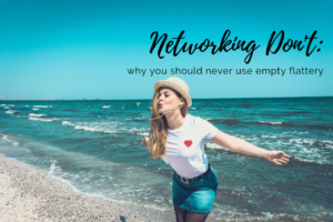 networking don't
